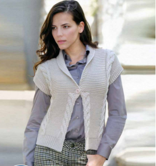 Super Soft Cabled Cardi | This knit cardigan makes a great layering piece on warm days.
