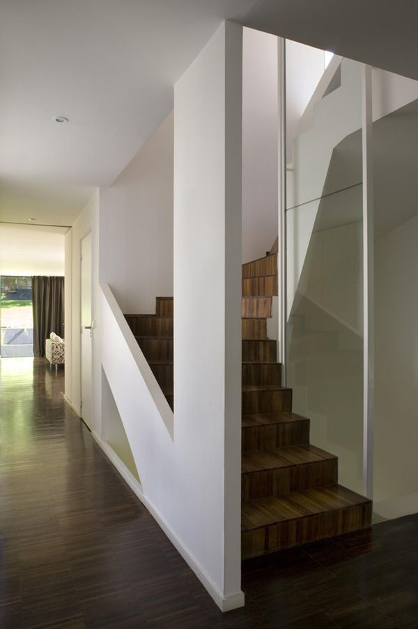 R House In Sevres France By Colboc Franzen Associes Staircases