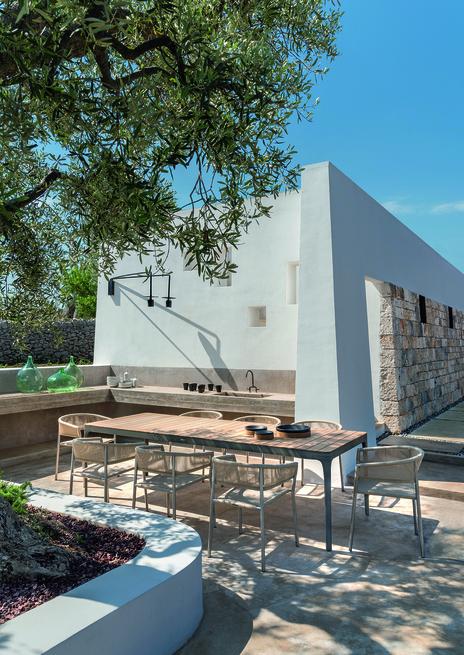 Outdoor 10 tables d'extérieur pour dîner en plein air en