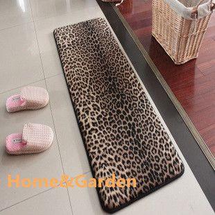 Leopard Print Bedroom Decor, Animal Print Bathroom Rugs