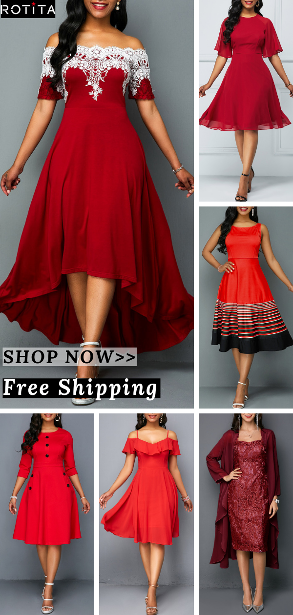 Free Shipping & Easy Return  Up to 40% Off Rotita dress collection  rotitaoutfit womenfashionclothing fashion ootdsummeroutfitsummerdress dressweddingoutfitreddress is part of Fashion dresses -