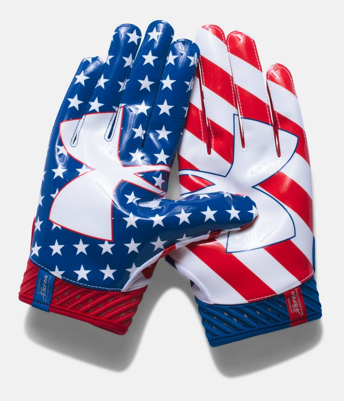 Under Armour Spotlight Amercian Football Receiver Handschuhe