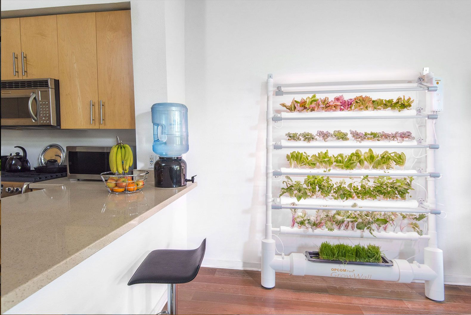 Harvest fresh veggies all year round with the energy efficient growbox grow box opcom hydroponic garden indoor garden indoor gardening kit hydroponic growing opcom farm indoor farm tabletop far indoor growing workwithnaturefo