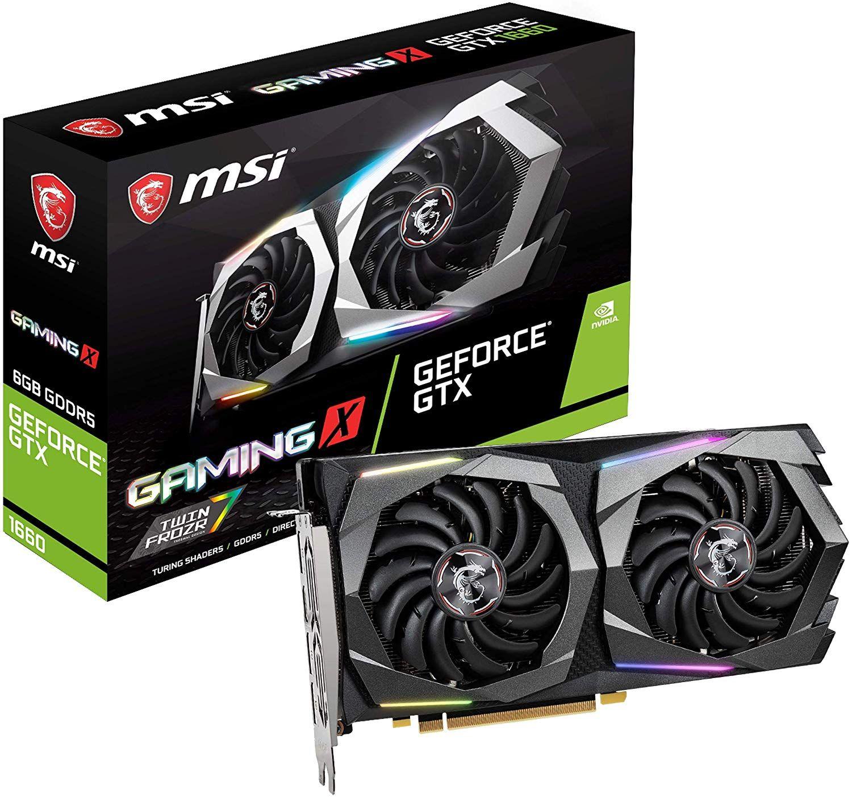 Msi Gaming Geforce Gtx 1660 128 Bit Graphic Card Super Games Msi