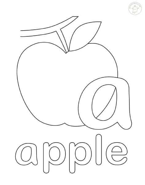 раскраски с буквами английского алфавита мама и малыш