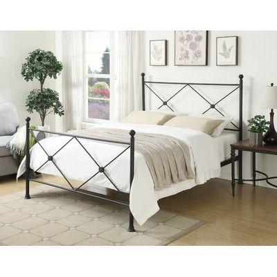 Wonderful Varick Gallery Queen Folding Bed U0026 Reviews   Wayfair · Metal BedsMetal  FramesBlack ...