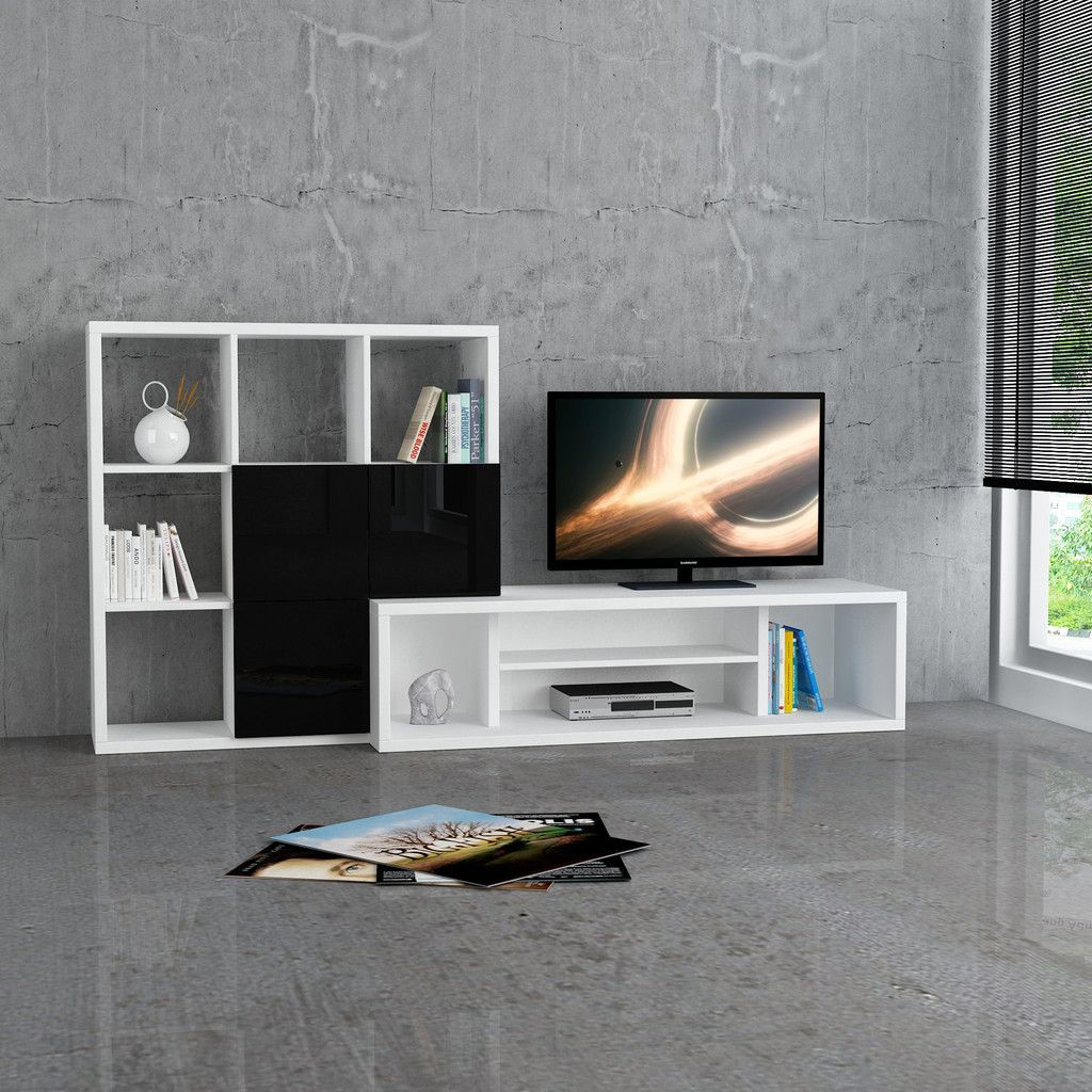 Debi 84\u2033 TV Stand | 《Decoración》 | Pinterest | Tv stands, TVs ...
