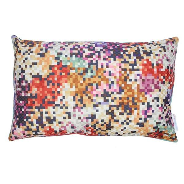 Missoni Pude Pixel Purple and Copper 50x30. Buy online.