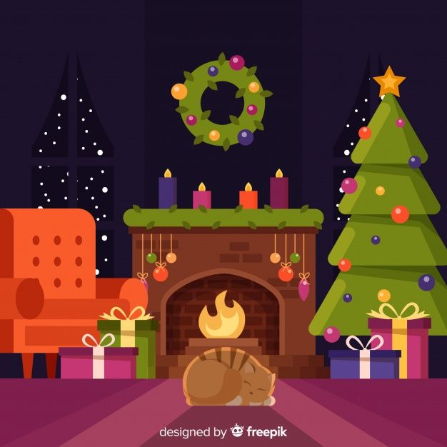 Download Christmas Fireplace Scene Background For Free Christmas Scene Drawing Christmas Drawing Beautiful Christmas Cards