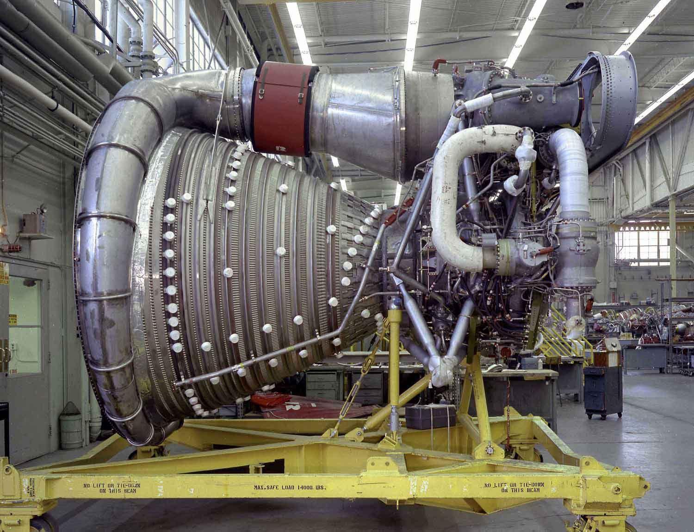 Saturn V Rocket Engine   ... rocket, of Saturn V fame ...
