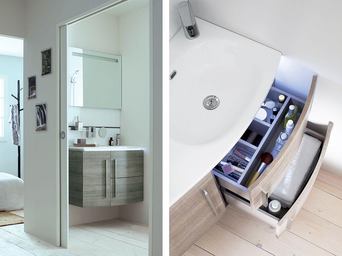 Conseil déco pour une petite salle de bain choisissez un meuble