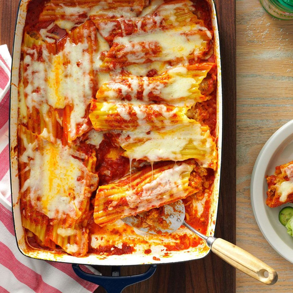 100 New And Traditional Italian Recipes Manicotti Recipe Italian Entrees Sausage Manicotti Recipe