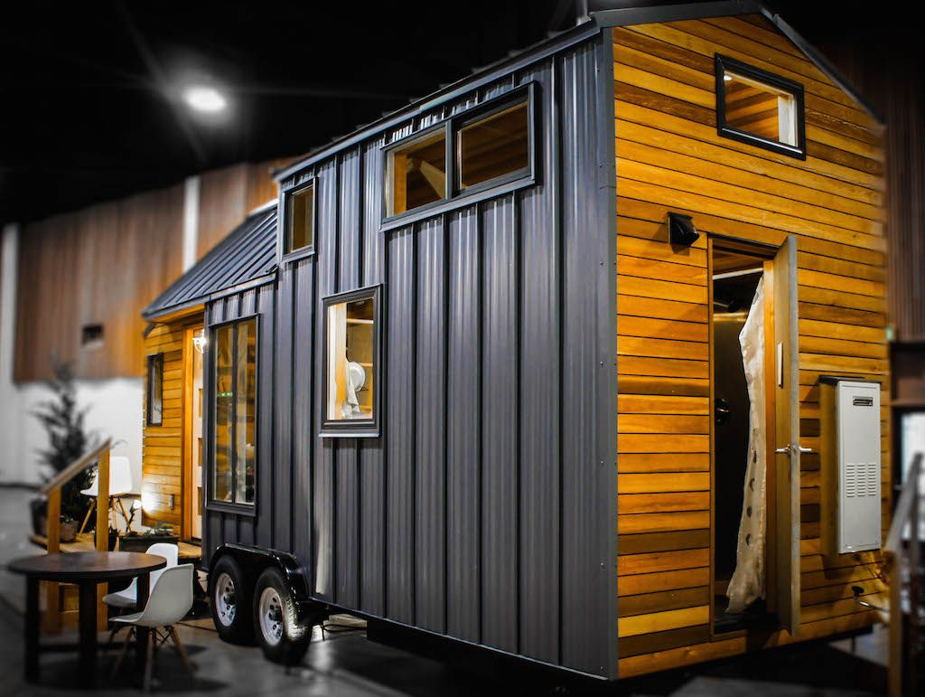 A custom 240 square feet tiny house on wheels in Eugene, Oregon ...
