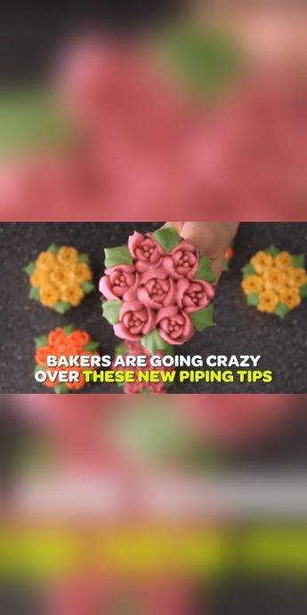 CakeLove - Flower-Shaped Frosting Nozzles See why