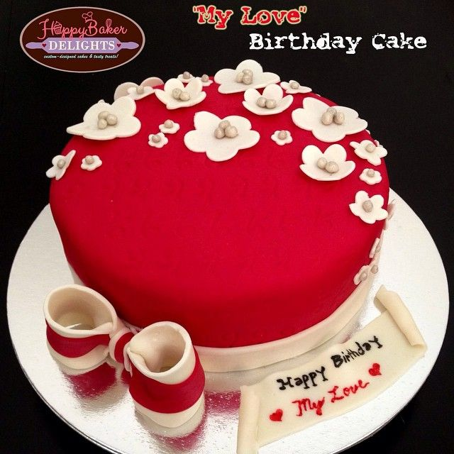 A Special Cake From A Loving Wife To Her Dearest Husband Blissful