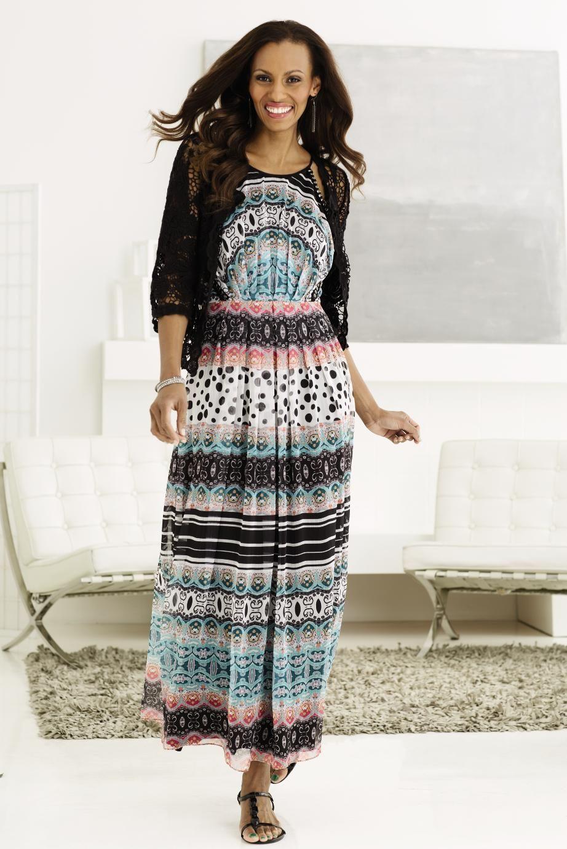 Maxi Dress And Crochet Steinmart Spring Summer Fashion Maxi Dress Halter Maxi Dresses [ 1382 x 922 Pixel ]