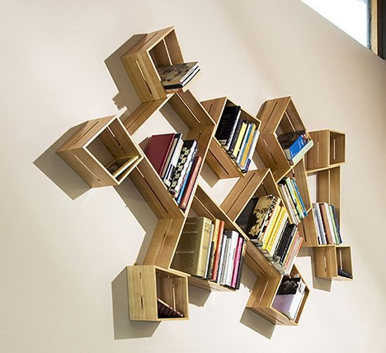 cool and unique bookshelves designs for inspiration - Unique Bookshelves