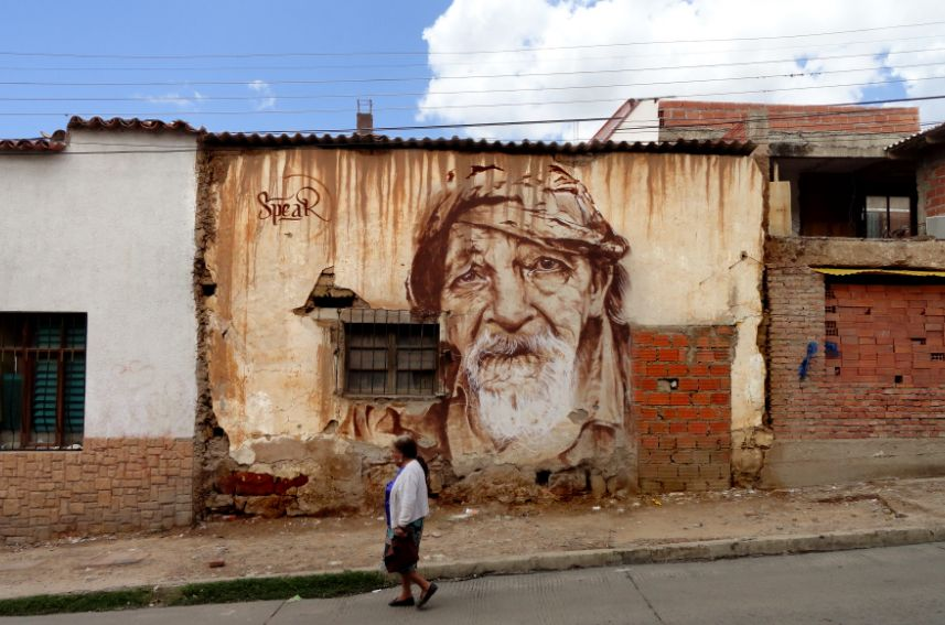 By Spear in Bolivia.