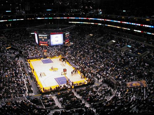 Staples Center Los Angeles Ca Staples Center Los Angeles Lakers Basketball Lakers Stadium