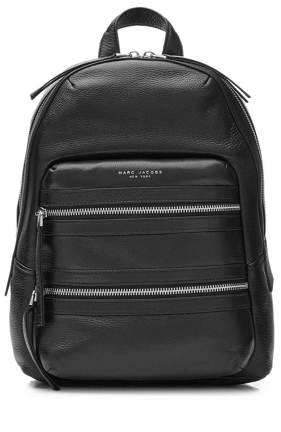 bf3edba0282f MARC JACOBS Leather Biker Backpack.  marcjacobs  bags  leather  lining   denim  backpacks
