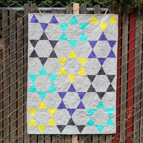 Sew Ready to Play Chinese Checkers Quilt - Free Tutorial