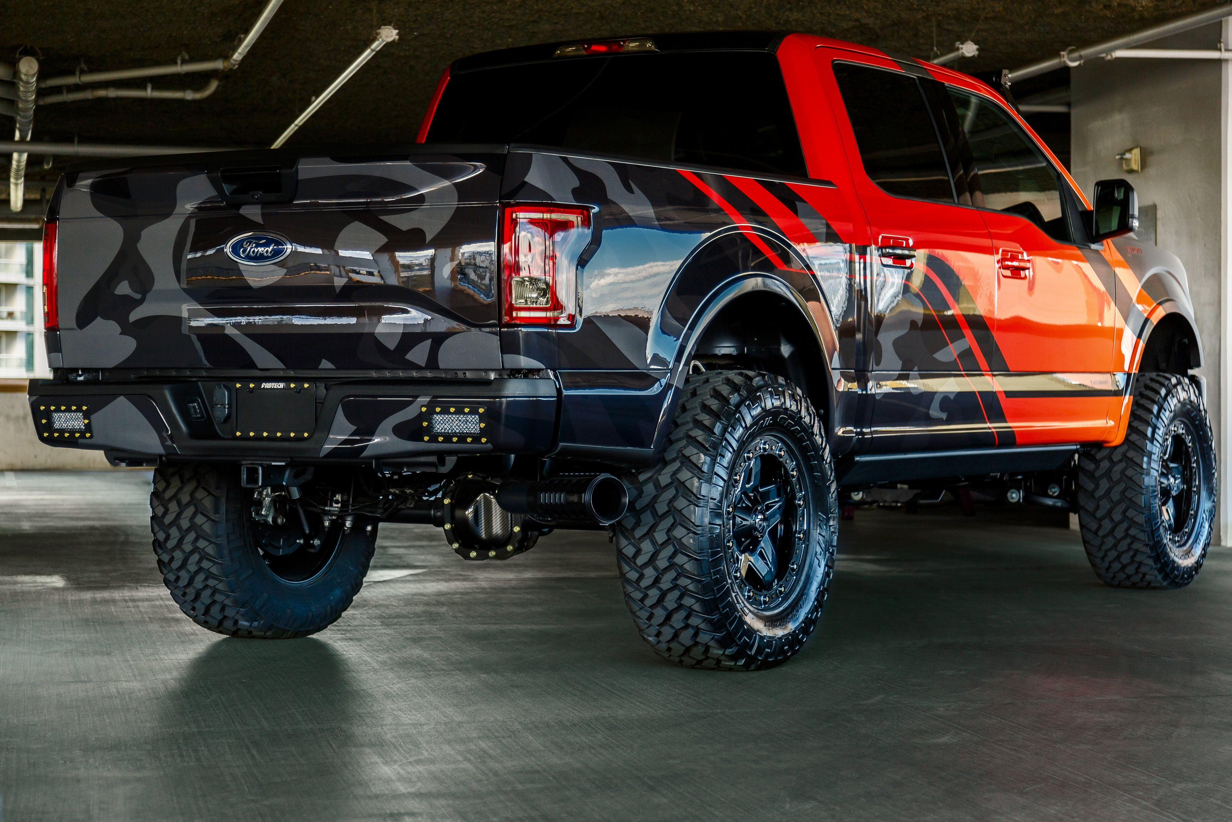 Fabtech Project 2015 Ford F150 Dark Ops Fabtech