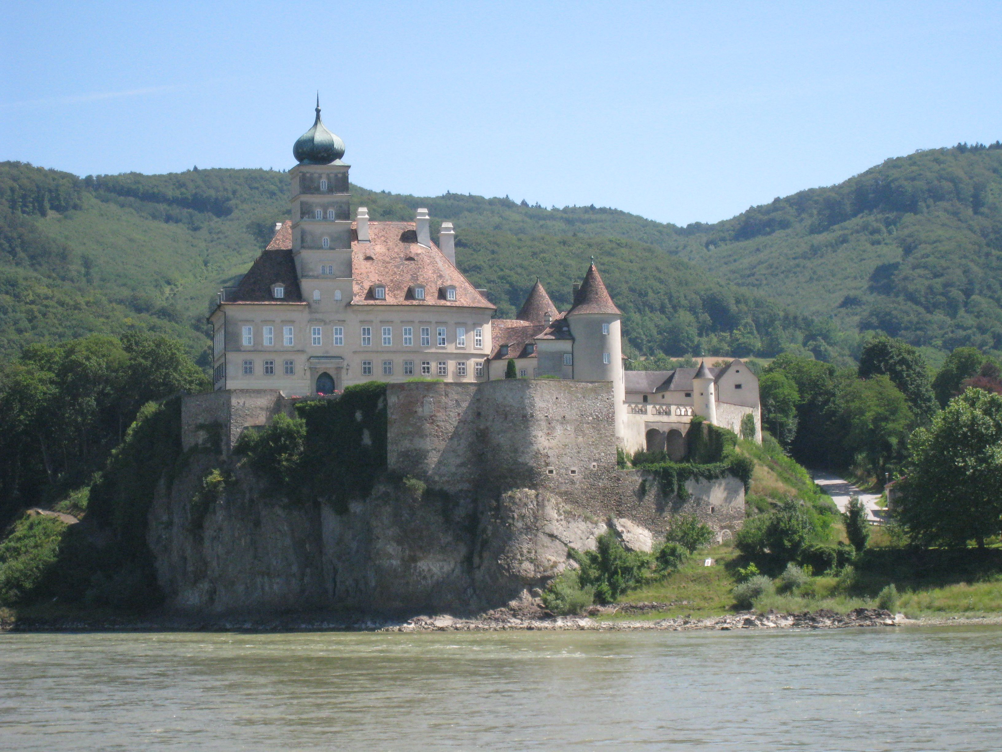 Wachau Valley, Austria cruising past all the beautiful