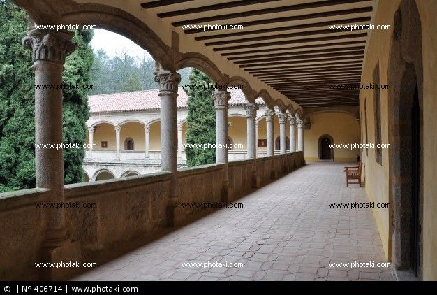 monasterio de yuste. Claustro nuevo. Segundo piso - Buscar con Google