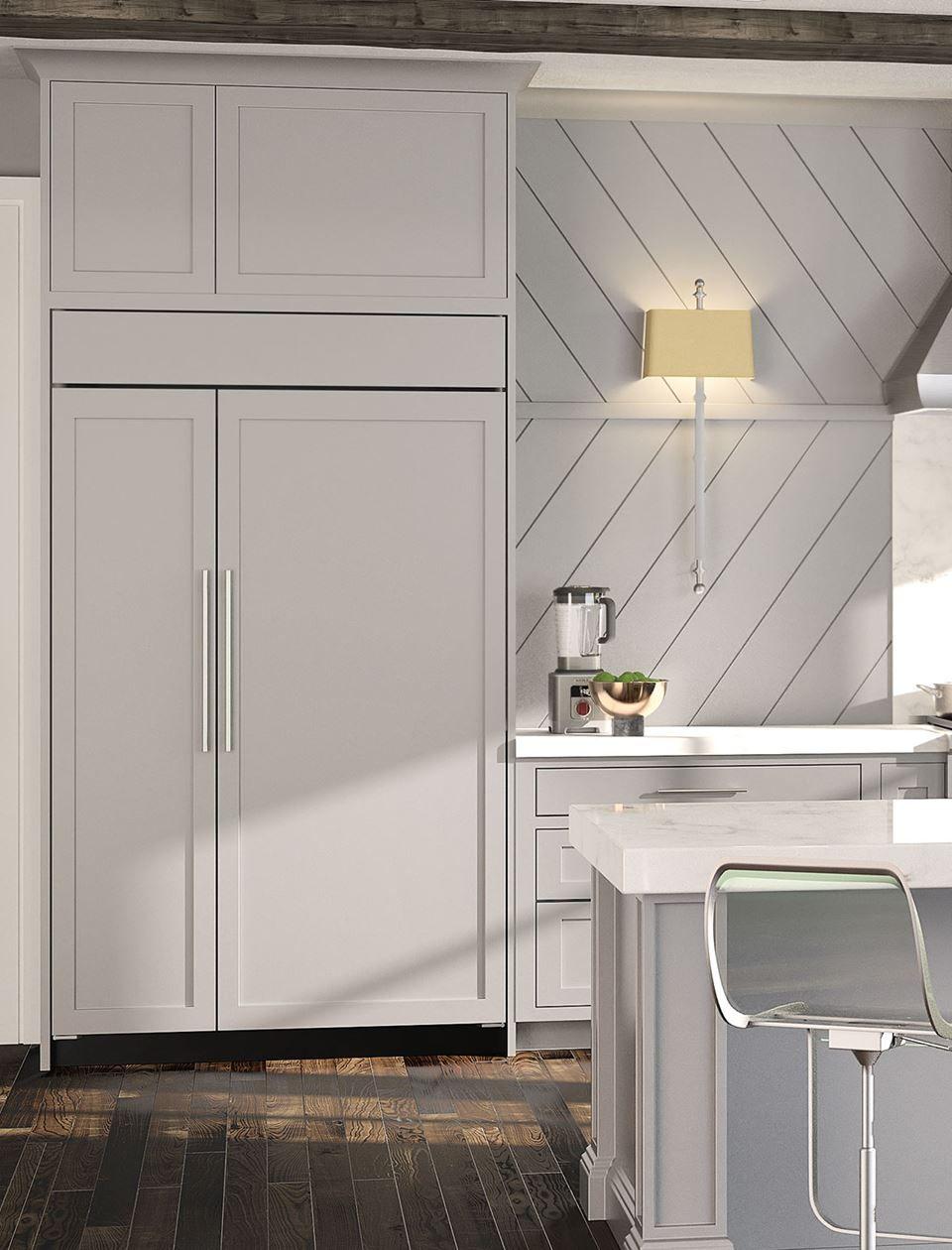 48 classic sidebyside refrigeratorfreezer with