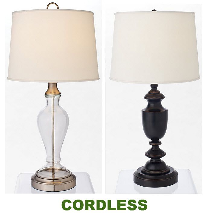 Battery Operated Cordless Table Lamps Whereibuyit Com Cordless