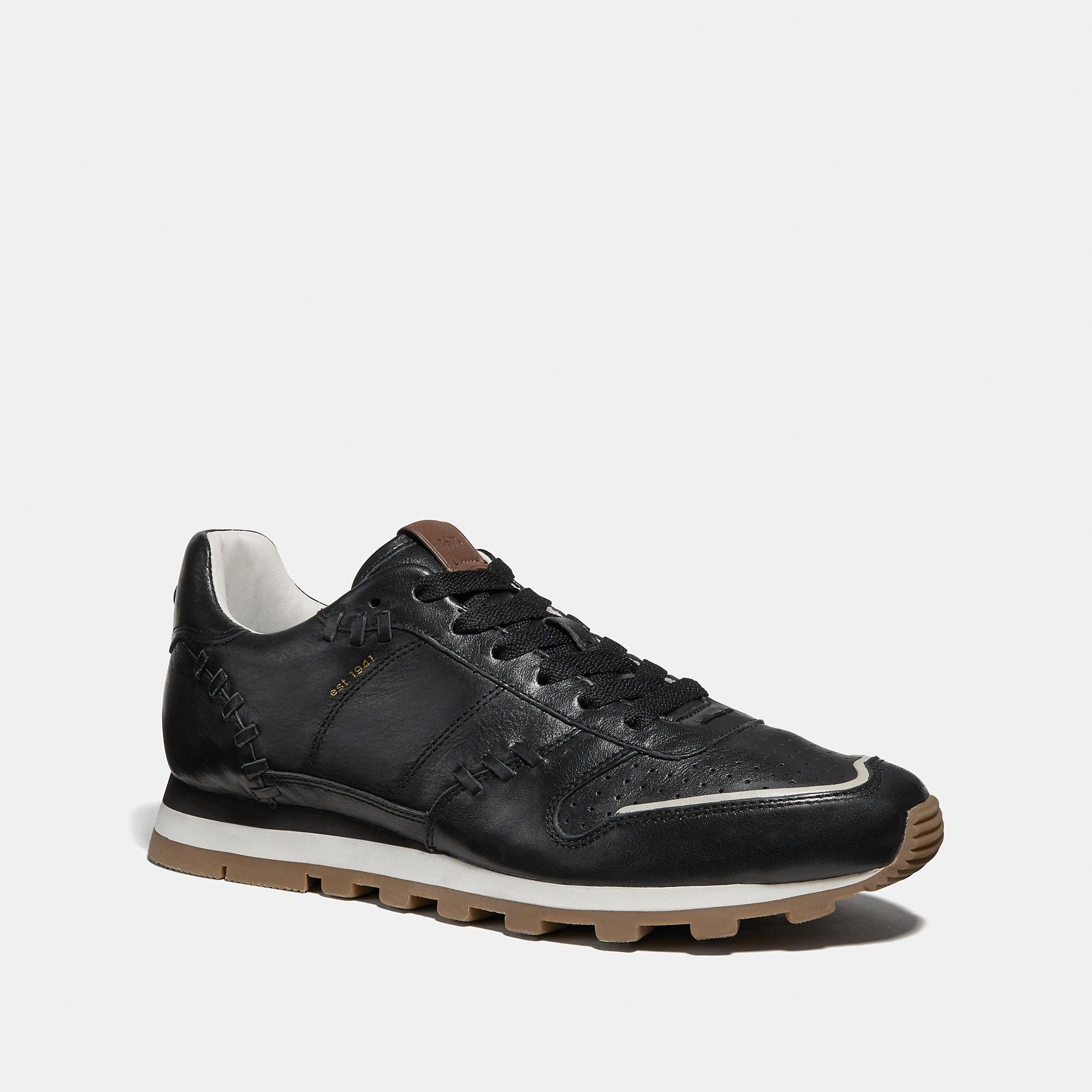 Mens shoes sale, Coach, Leather dress shoes