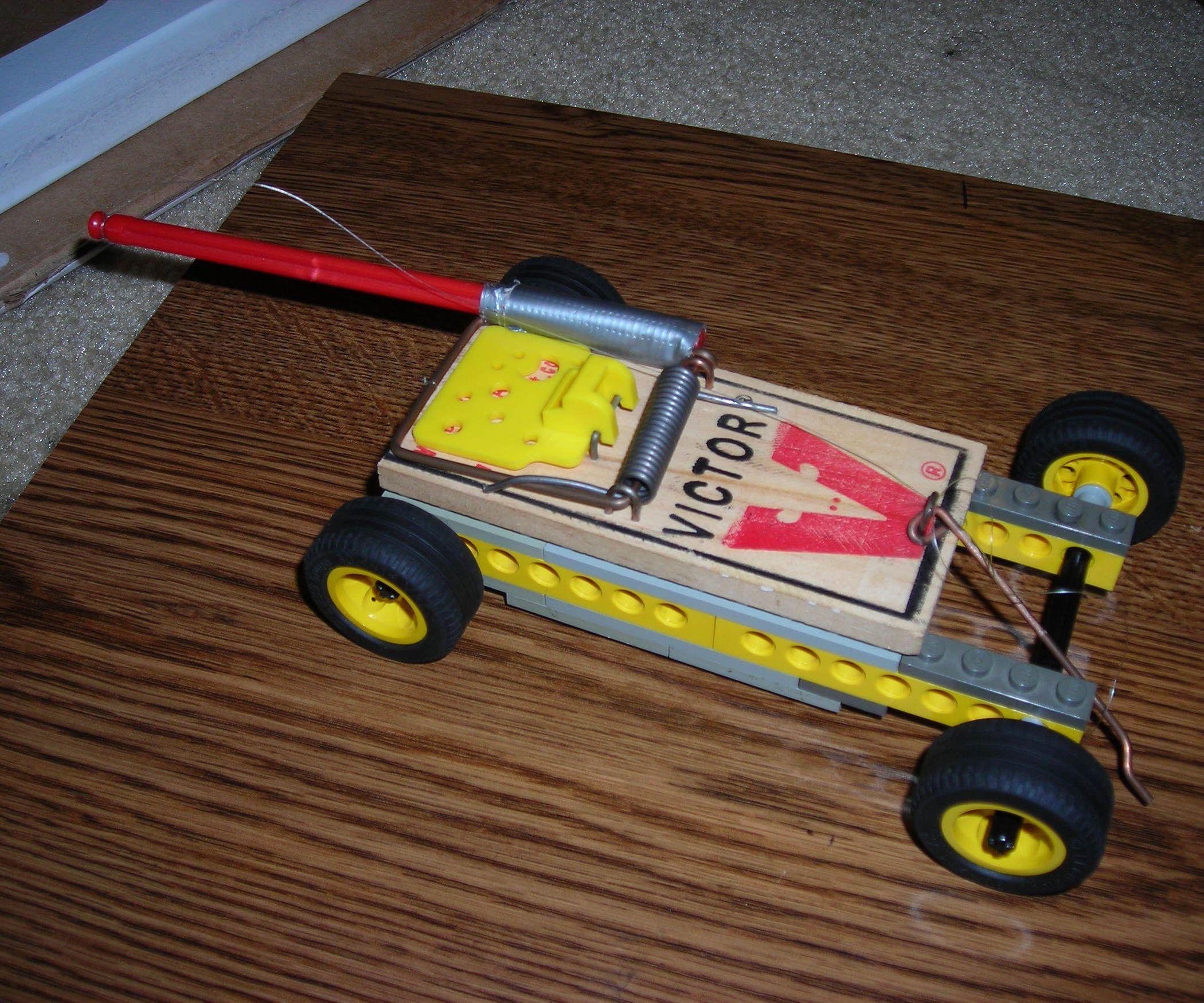Mousetrap Car, Mouse