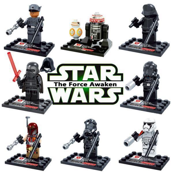 Dargo D867 Star Wars Space Wars Kylo Ren Bb 8 R5 D4 Minifigures Building Block Minifigure Toys Best Toys Compati Star Wars Minifigures Star Wars R2d2 Star Wars