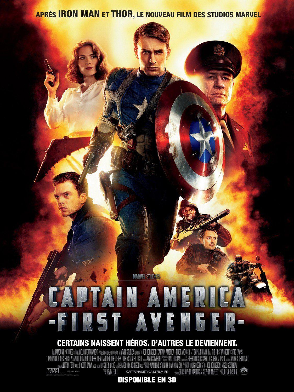 Capitan America El Primer Vengador 2011 Avengers Film Captain America Film