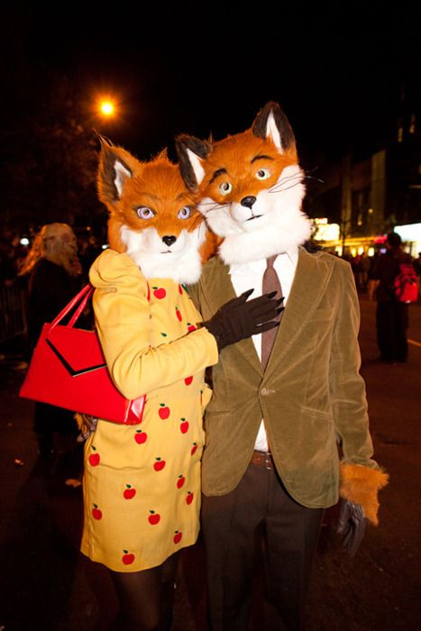 Most awesome couple costume ever.