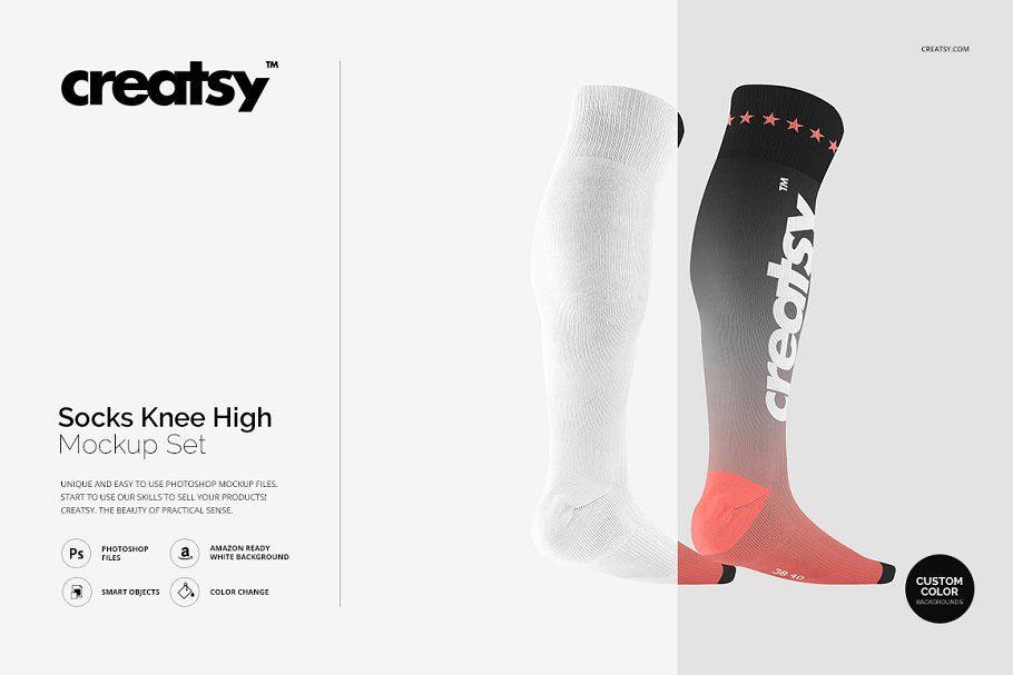 Socks Mockup Set Mockup Socks Graphic Design Portfolio Print