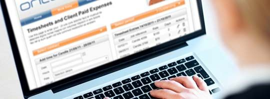 Oncore's timesheet and payroll management system will