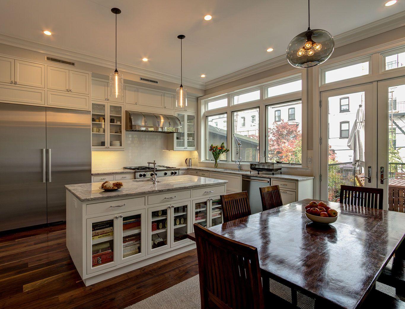 Brooklyn Brownstone Kitchen Design Ideas Pictures Remodel