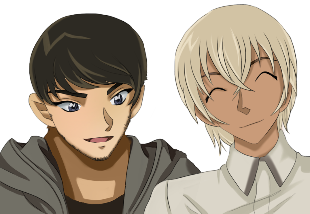 Scotch and Rei Furuya (Bourbon) A deceased undercover agent from the Secret Police. He was killed while infiltrating the Black Organization. #DetectiveConan