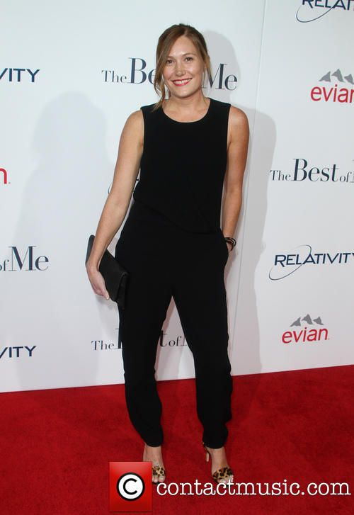 """Schuyler Fisk at """"The Best Of Me"""" Los Angeles Premiere"""