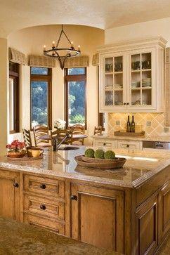 Santa Lucia Preserve Ranch, Carmel CA - rustic - Kitchen - Other Metro -  Andrea