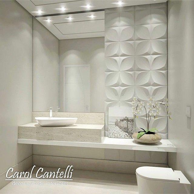 Boa Tarde!! ☺ LAVABO Clean Moderno Sofisticado Bancada em