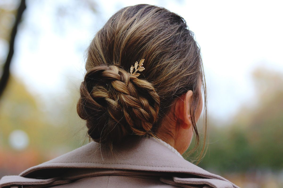Chic bun awesome hairstyles festive hairstyles braids festive