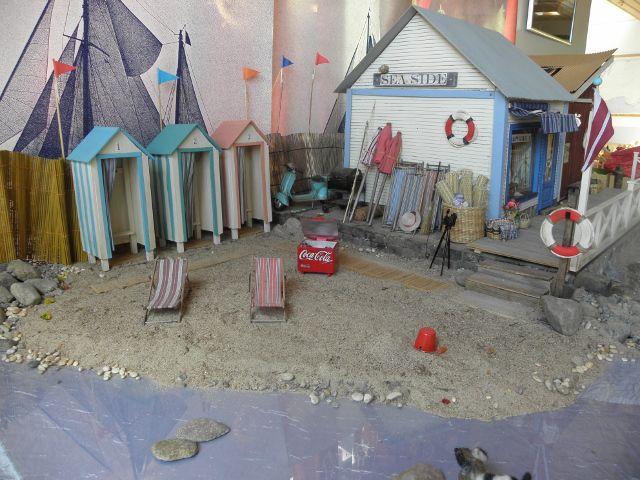 #Miniature #beach