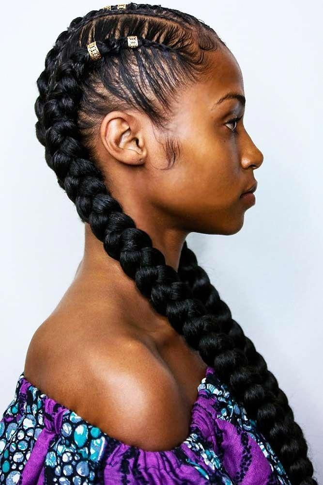 Protective & Stylish Box Braids: How To Do, Style, And Rock The Natural Hair Trend #longboxbraids #longboxbraids #box Braids styles #boxbraidstyles