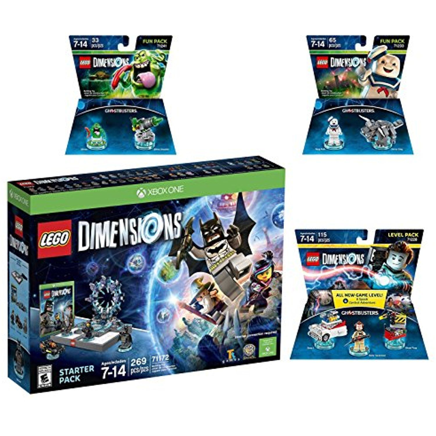 Lego Dimensions Ghostbusters Starter Pack Peter Venkman