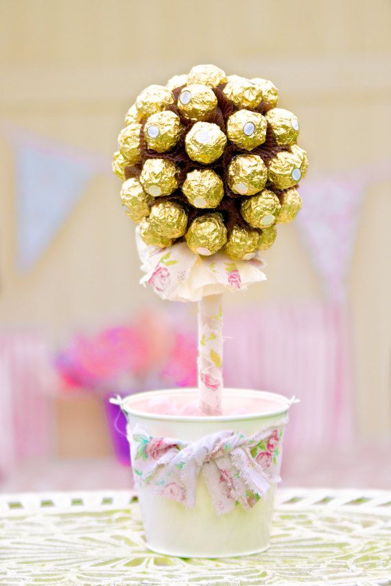 Sweet Tree - Ferrero Rocher, Table Centrepiece, Table Decoration ...
