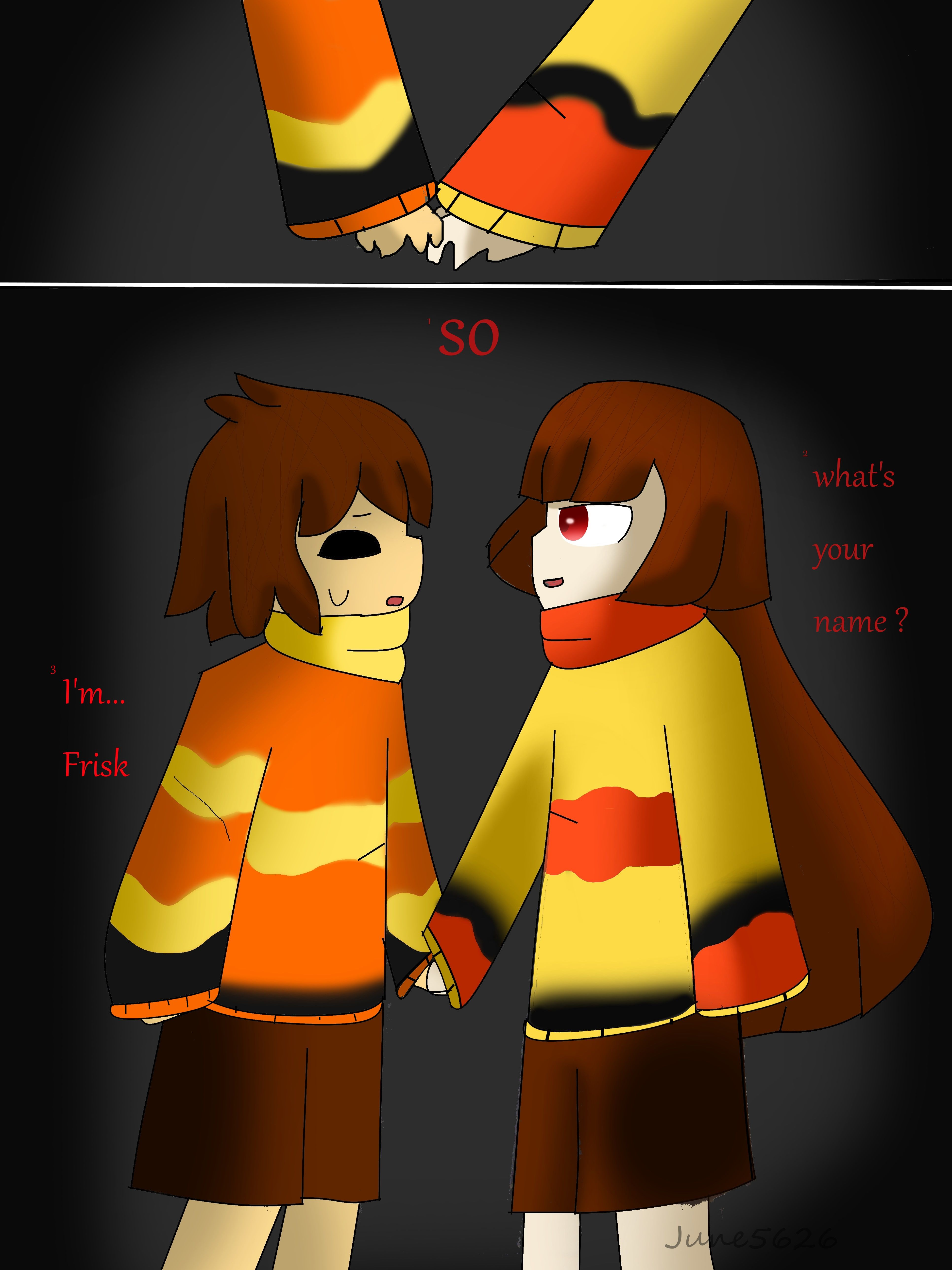 (made by me) FireTale page 2 chapter 1 : the ruine