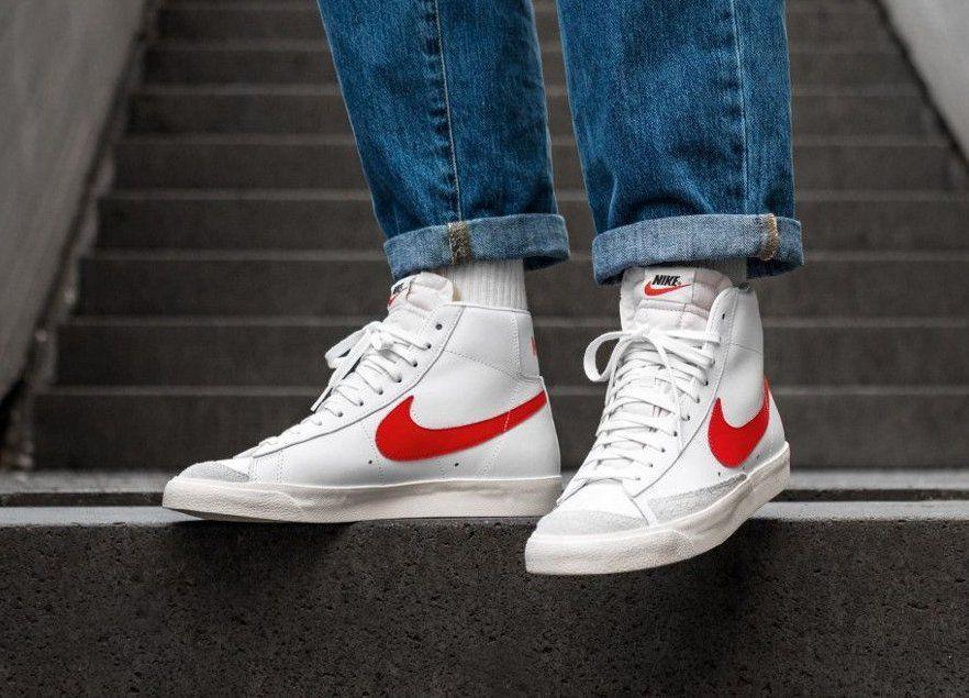 Faut-il acheter la Nike Blazer Mid 77 VNTG Habanero Red White ...