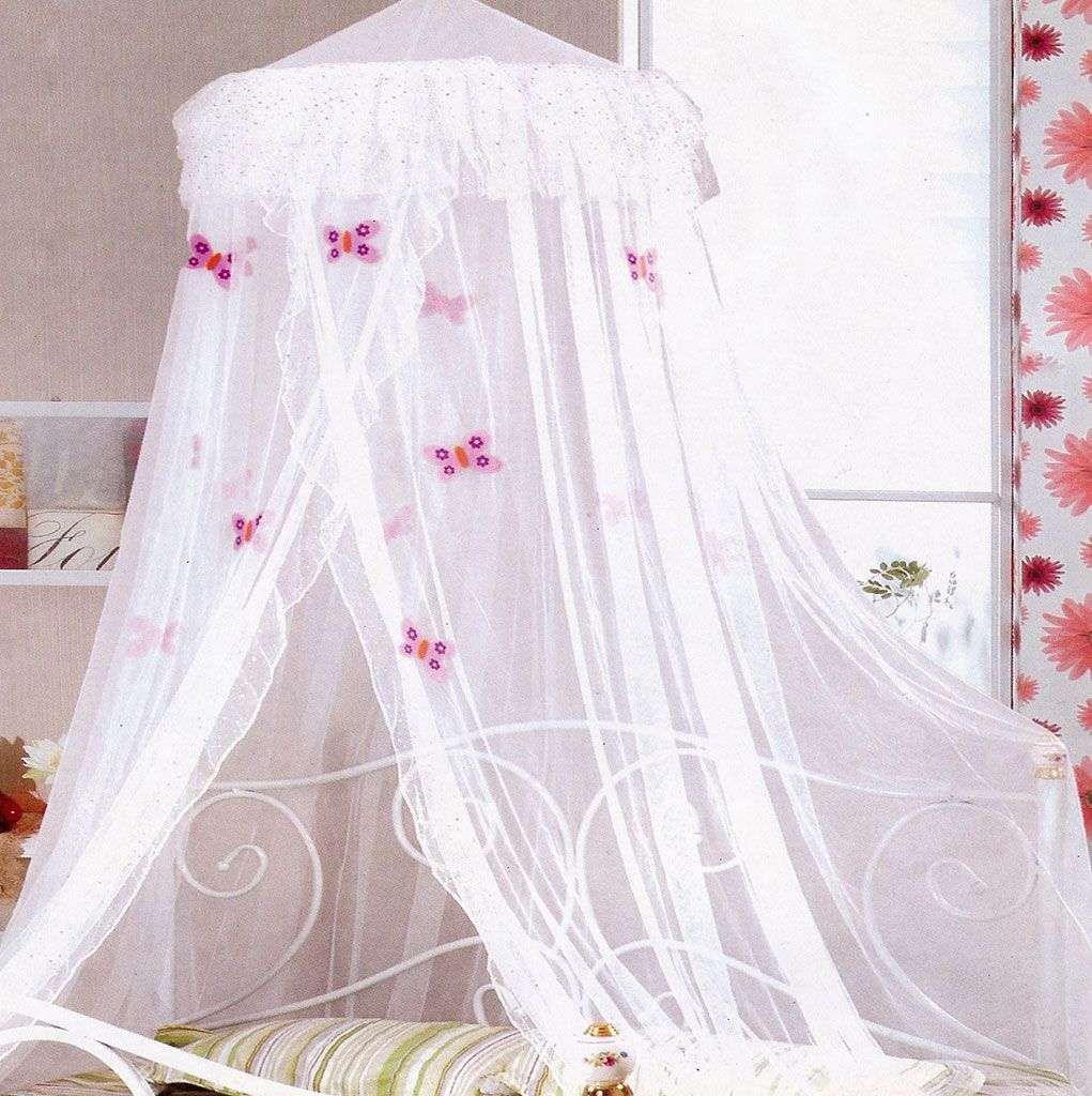 Kids bed canopy ideas - White Frill Butterflies Bed Net From Kids Bedding Dreams Butterflies Girls Room Bedroom Inspiration Ideas Girl S Bedrooms Pinterest